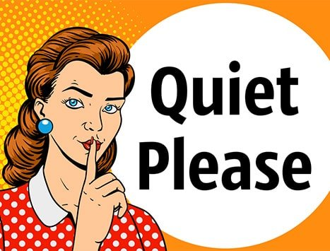 Background noise is your enemy. Make sure you record your interview in a quiet space if you can't be in a studio.